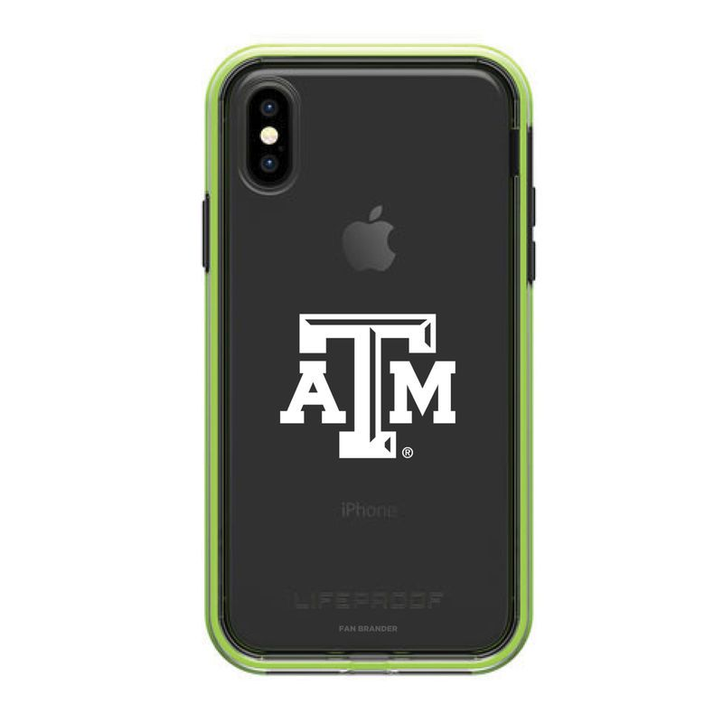 Texas A M Aggies Lifeproof Iphone X Night Flash Slim Case Slim Case Lifeproof Iphone