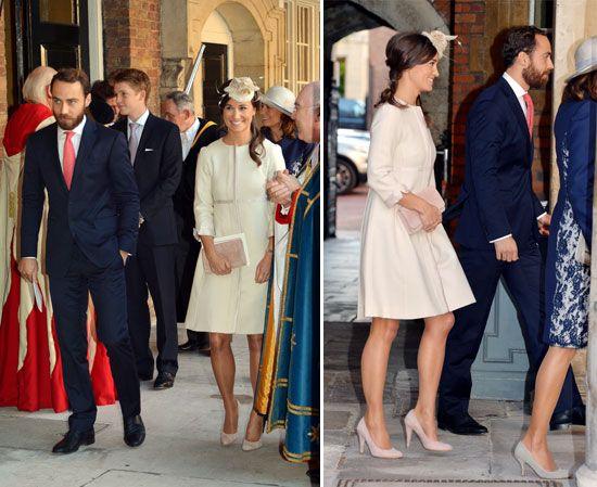 James y Pippa Middleton, hermanos de la Duquesa de Cambridge y tíos maternos del príncipe George