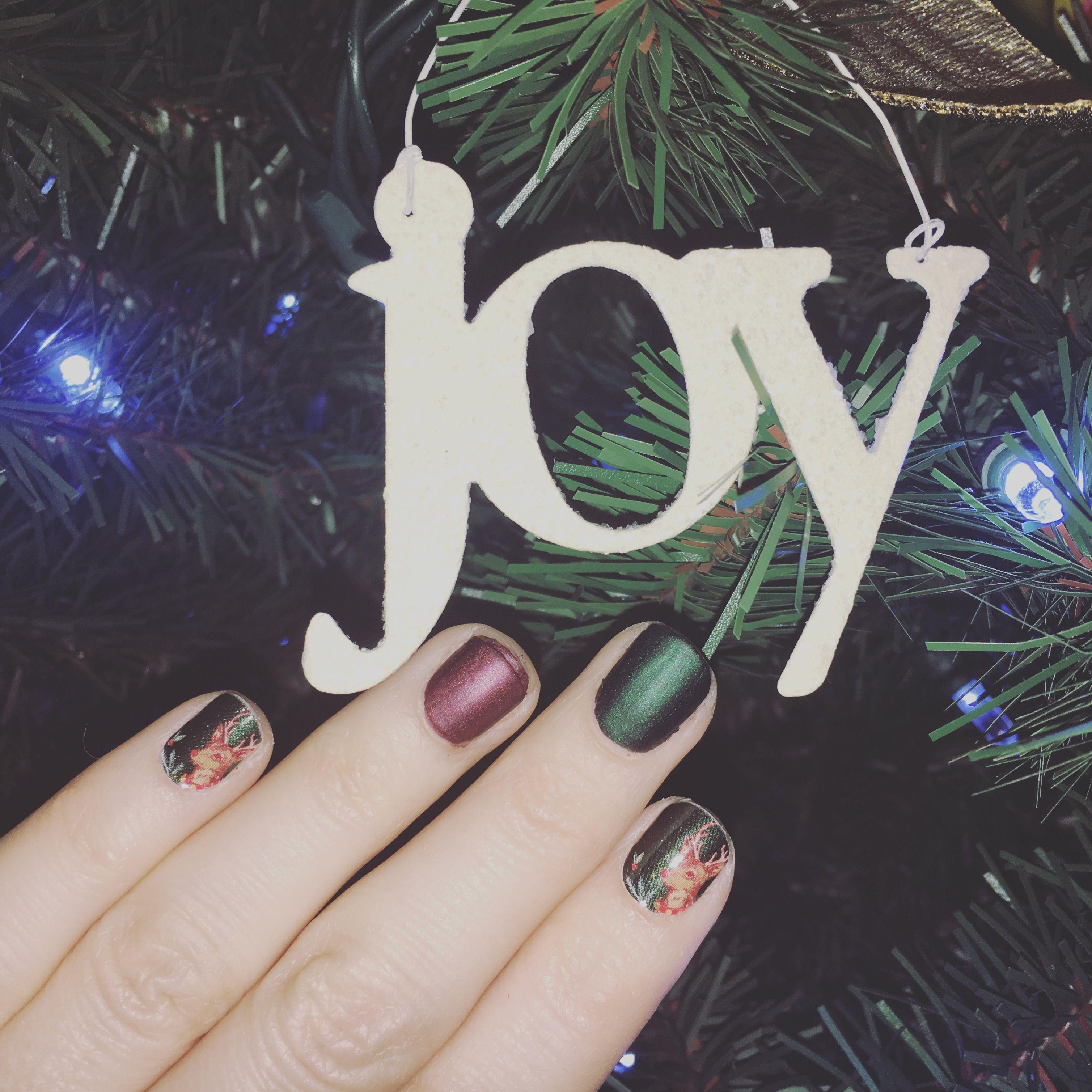 Drive Me Matte Christmas Nails! #drivememattejn #nails #jamberry ...
