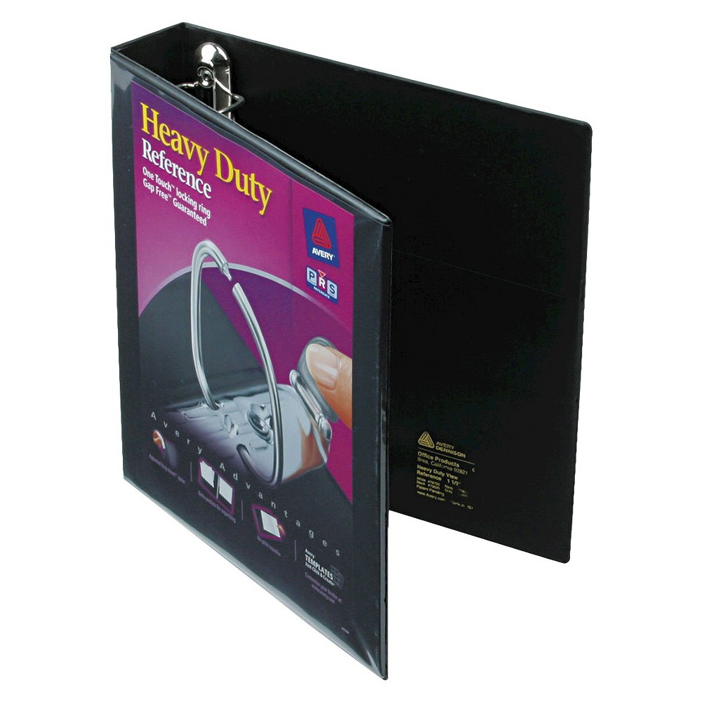 Avery 1.5 Heavy-Duty View Binder With One Touch Ezd Rings