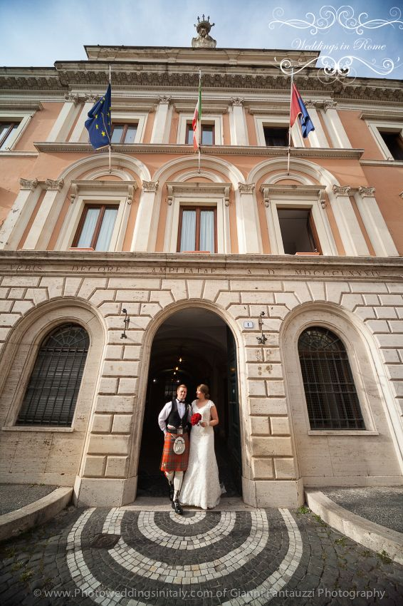 Louise and Grant our couple from Scotland! Congratulations. www.weddingsinrome.com