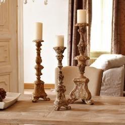 Kerzenständer 3er Set Rubigny