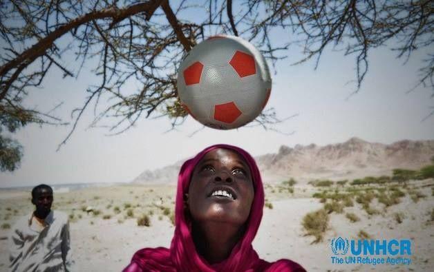 Maymun, ragazza somala costretta a fuggire in Gibuti a causa della sua passione per il calcio