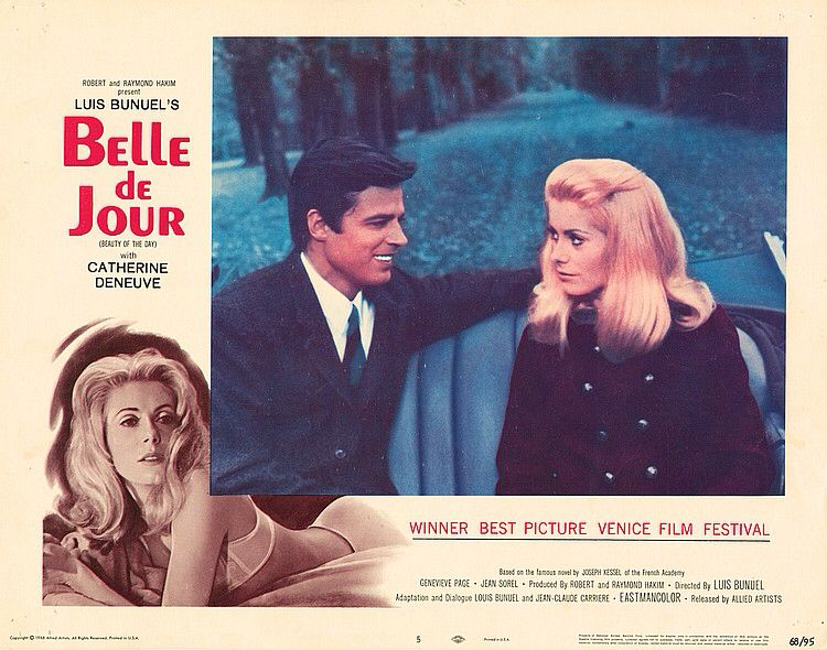 Lobby Card from the film Belle De Jour