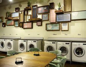 Cleaning Up Launderette Becomes A Social Space Design De Vendas