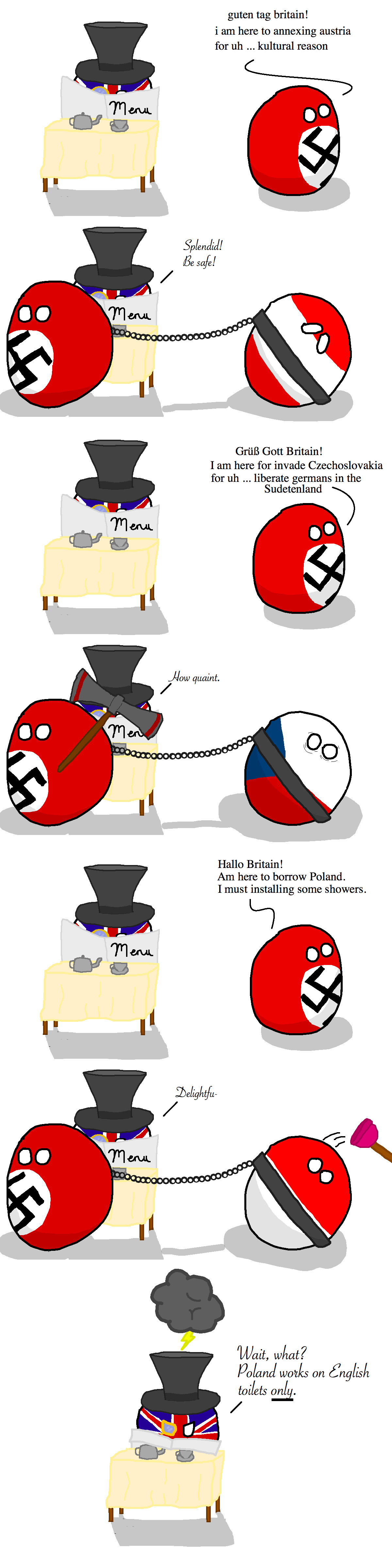 meme when theres peace in europe ball