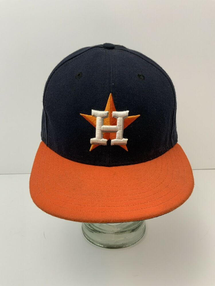 Houston astros hat new era official on field baseball cap