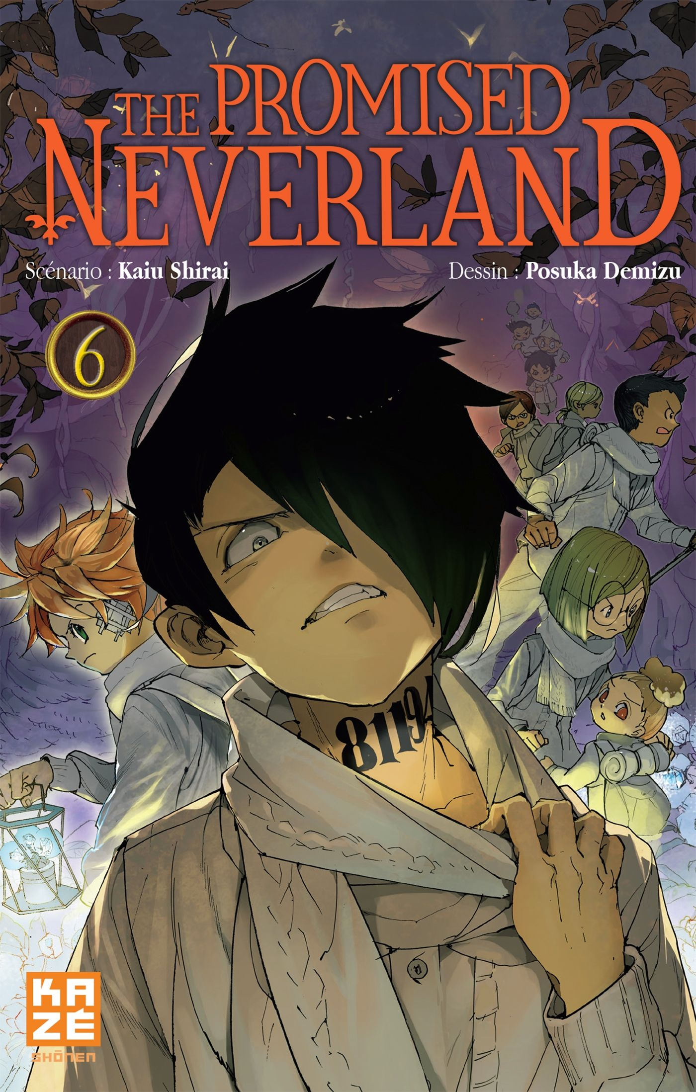 La couverture du tome 6 de The Promised Neverland 😱😱 Le