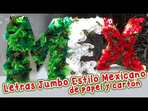 f8d86930d 3 Ideas Tricolor Decorativas estilo Mexicano    Chuladas Creativas     Esferas de papel - YouTube