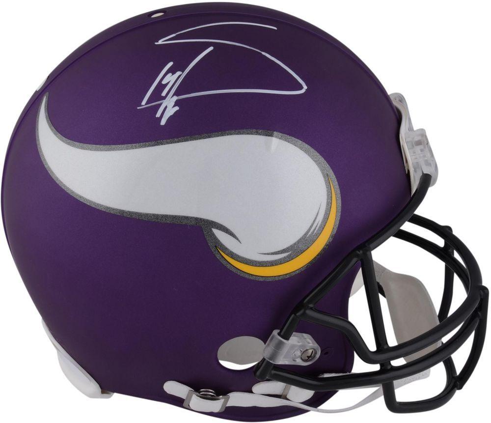 Stefon Diggs Minnesota Vikings Autographed Riddell Pro-Line Authentic Helmet | Football helmets ...