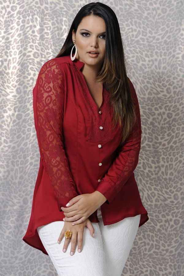 blusa roja. Program Moda ... 699ab12df72