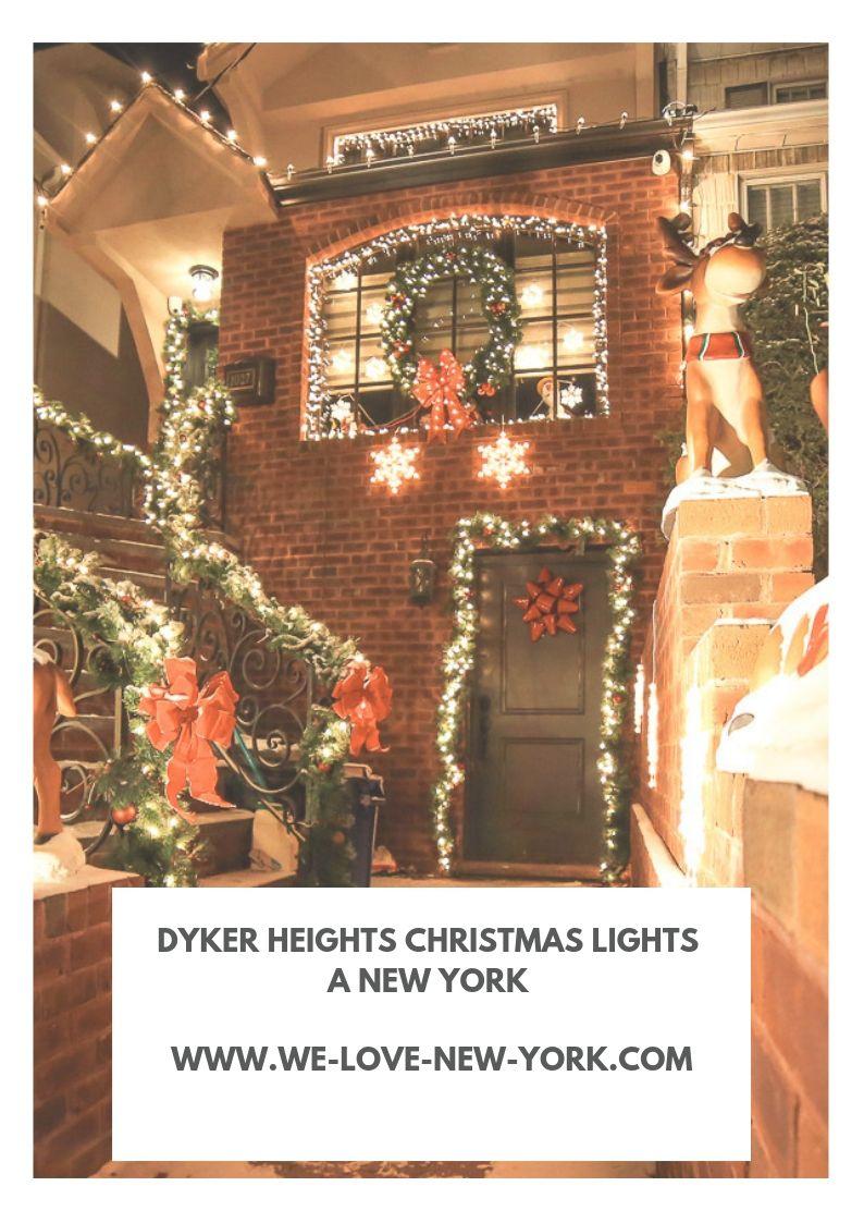 Dyker Heights Christmas Lights à New York, comme dans un