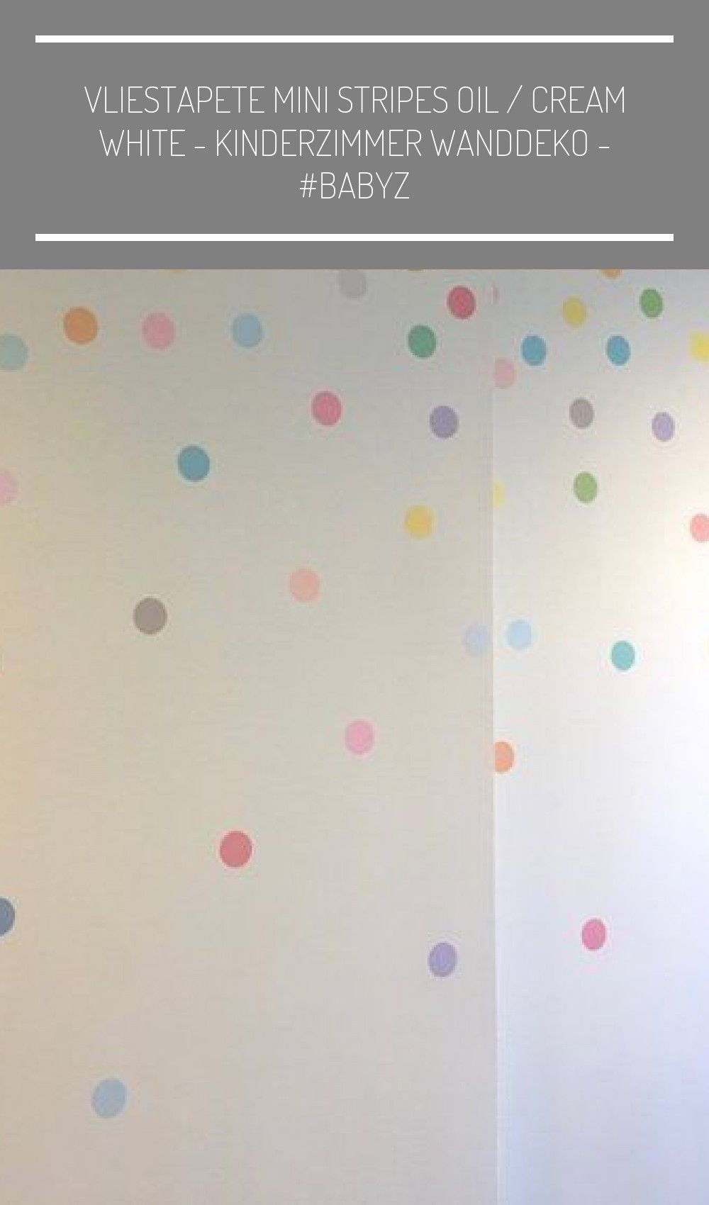 Polka Dot Wandaufkleber Mini Dots Sorbet Pastell Konfetti   Etsy # Babyzimmer .....