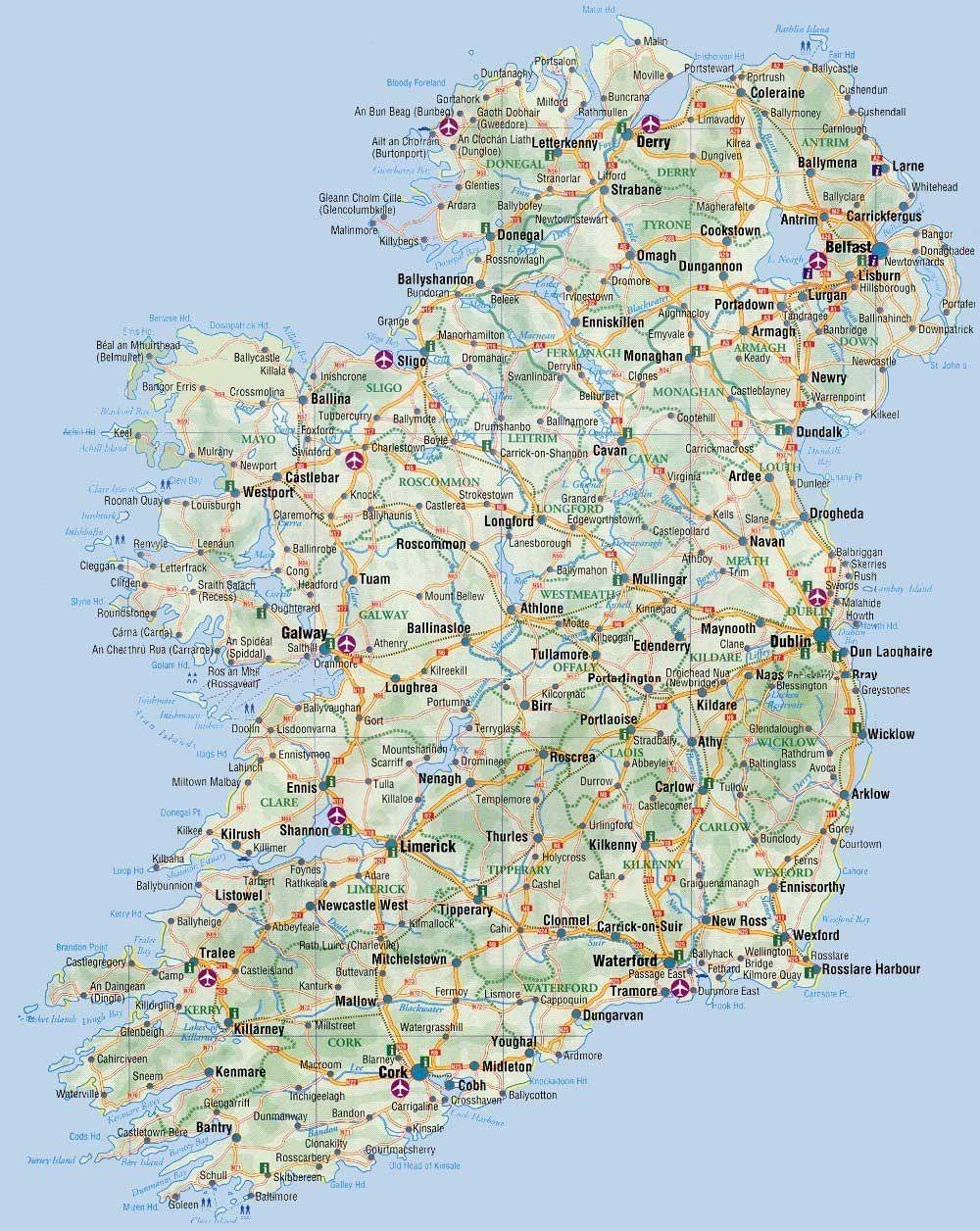 mapacarreterasirlandajpg 10001256  MiscellaneaCajn de