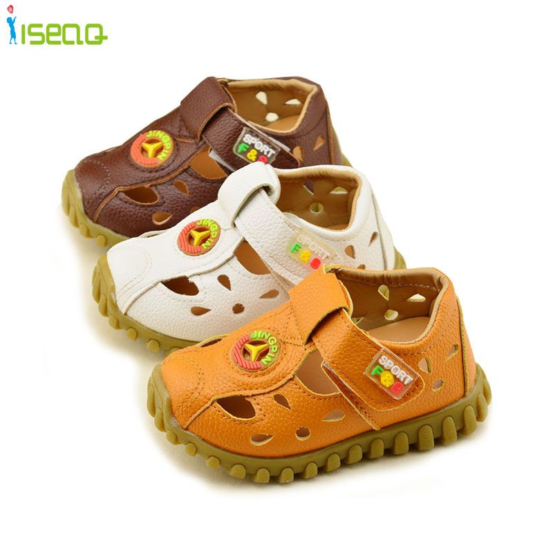 d6e43a4a544 Baby Boy Sandals Summer Leather Soft Sole Shoes
