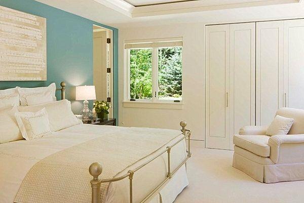 Wandfarben Ideen und Beispiele - Welche Farben passen in Ihrer - schlafzimmer beispiele farben