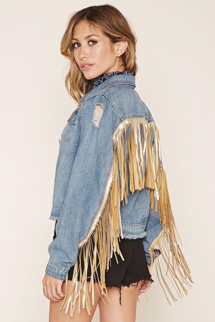 Fringe Jacket Forever 21