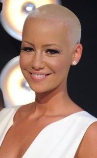 Hot Chick Shaved Head