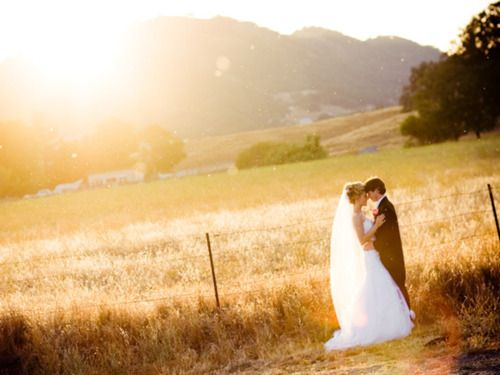 love the southern country wedding