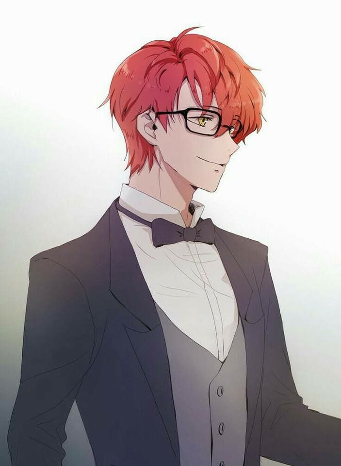 Saeyoung in a tux *dies*