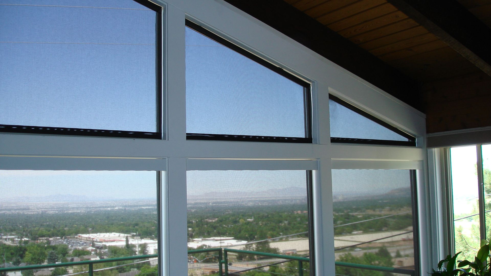 Our custom solar shades provide a great solution for - Interior solutions salt lake city ...