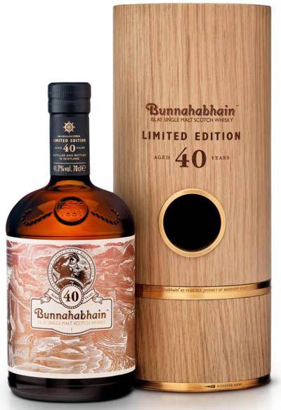 Rare, Forty Year Old Bunnahabhain 40 YO Whisky