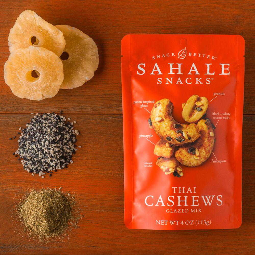 Thai Cashews Glazed Mix Sahale Snacks Snacks Tasty Ingredients
