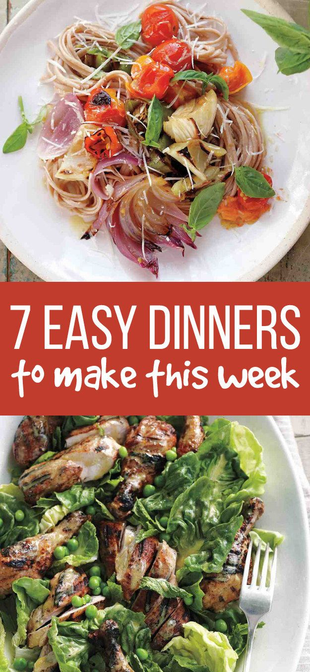 7 easy dinners for busy weeknights dinners easy and food 7 easy dinners for busy weeknights forumfinder Image collections