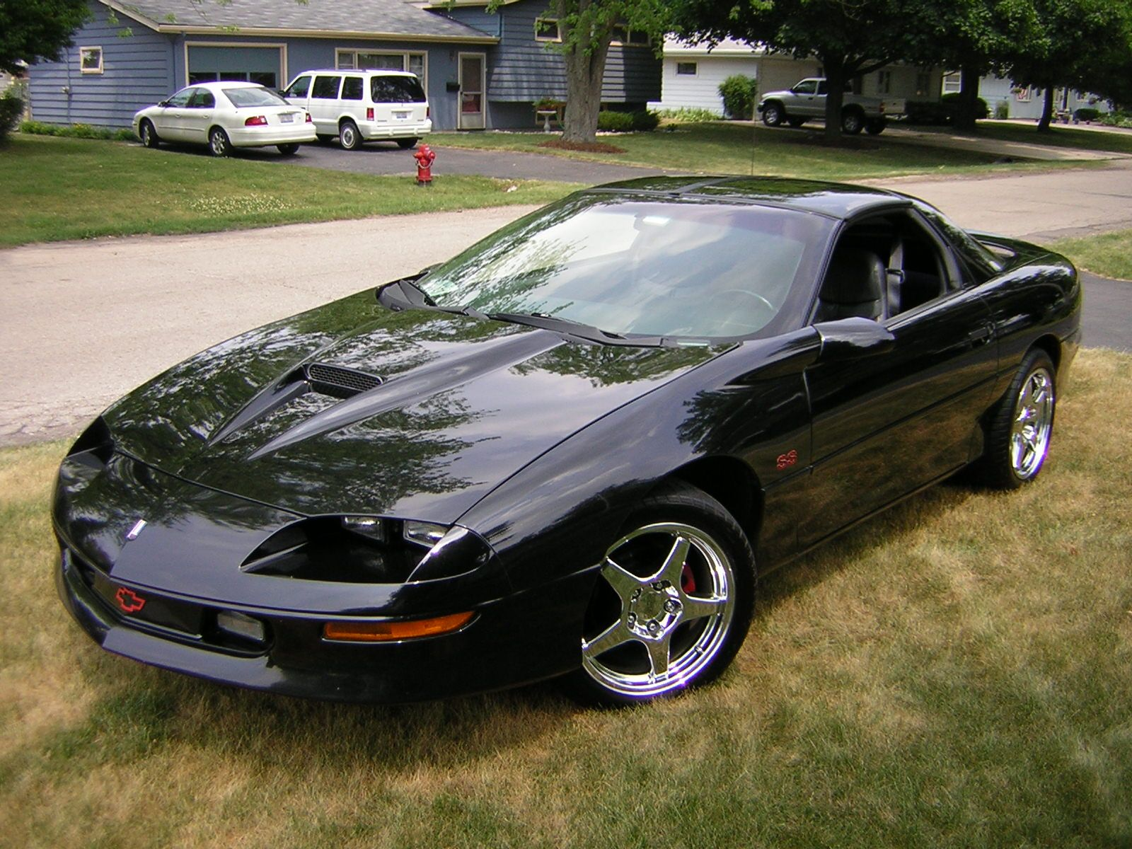 Camaro 1996 Chevrolet Z28 Ss Pictures 2 Dr