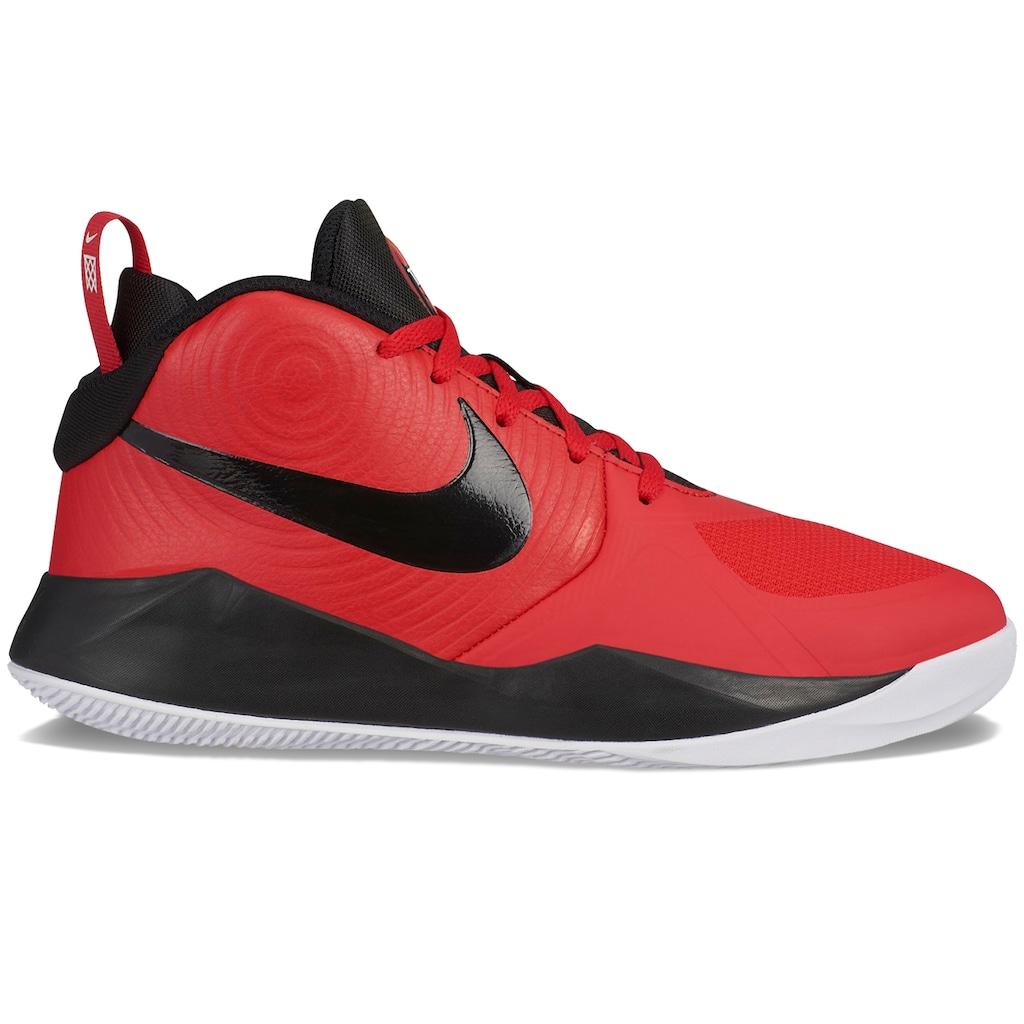 Nike Team Hustle D9 Grade School Kids' Basketball Shoes