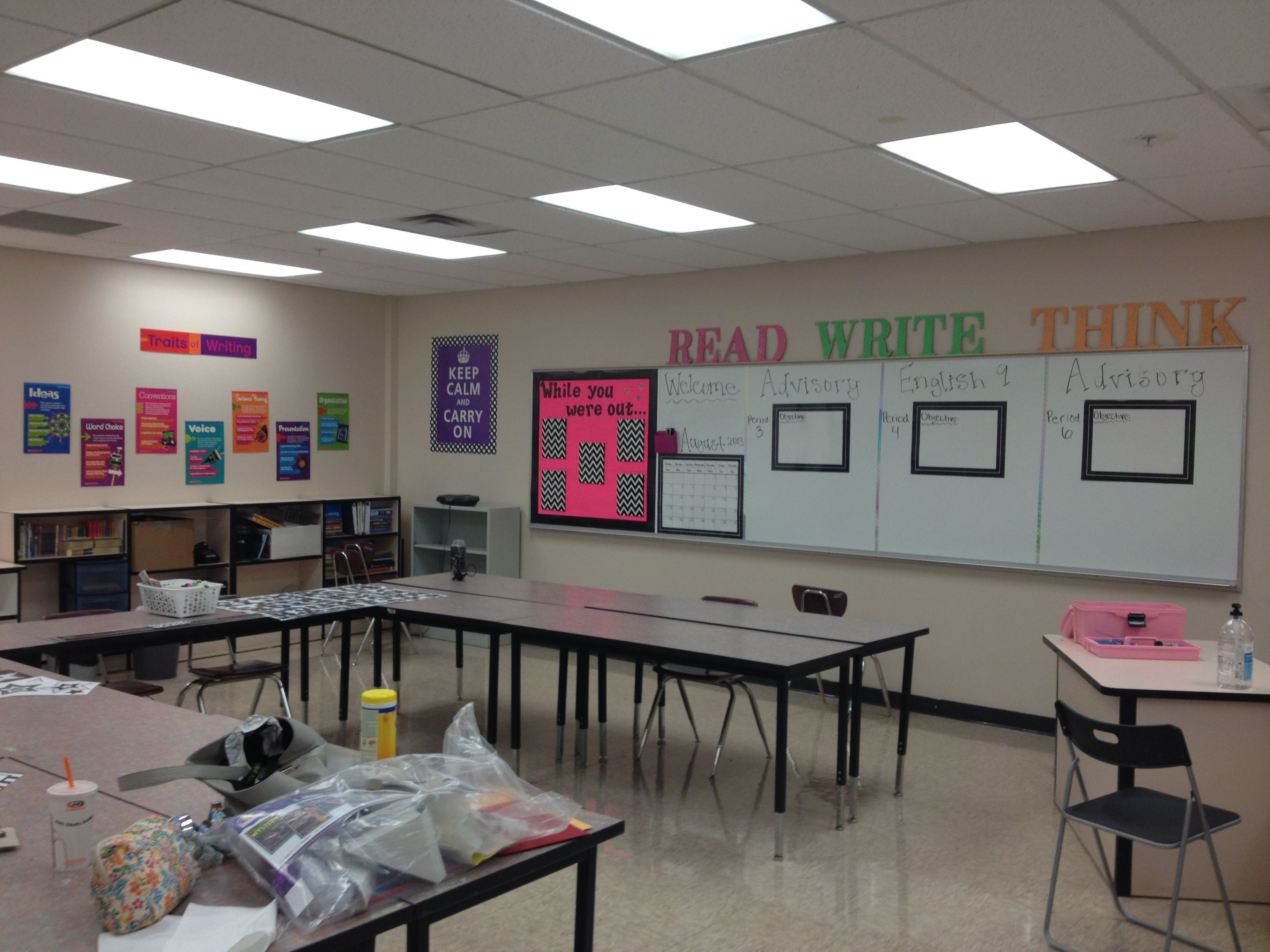 Classroom Decoration Secondary : The start of my high school english room office pinterest