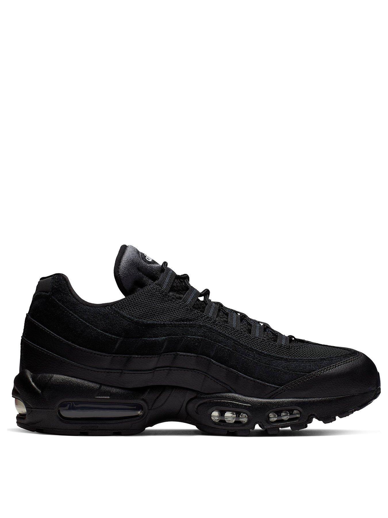 Nike Air Max 95 Essential Black in 2020 | Air max 95, Air