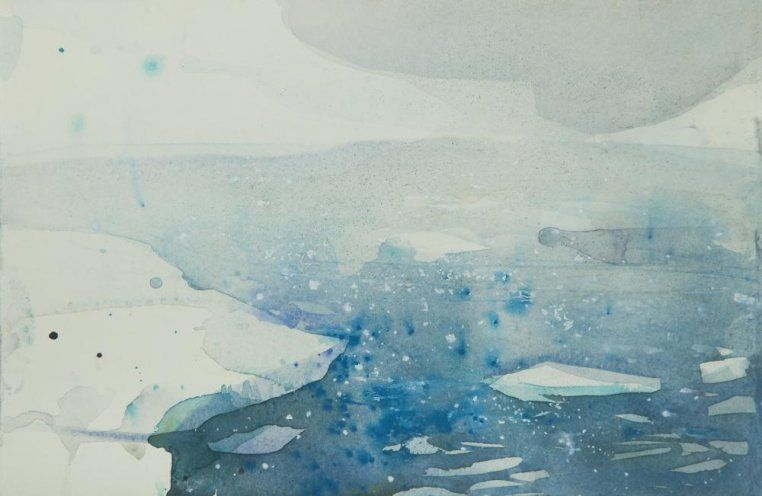 Ice Study I By Claire Harkess Art Abstract Artwork Arctic