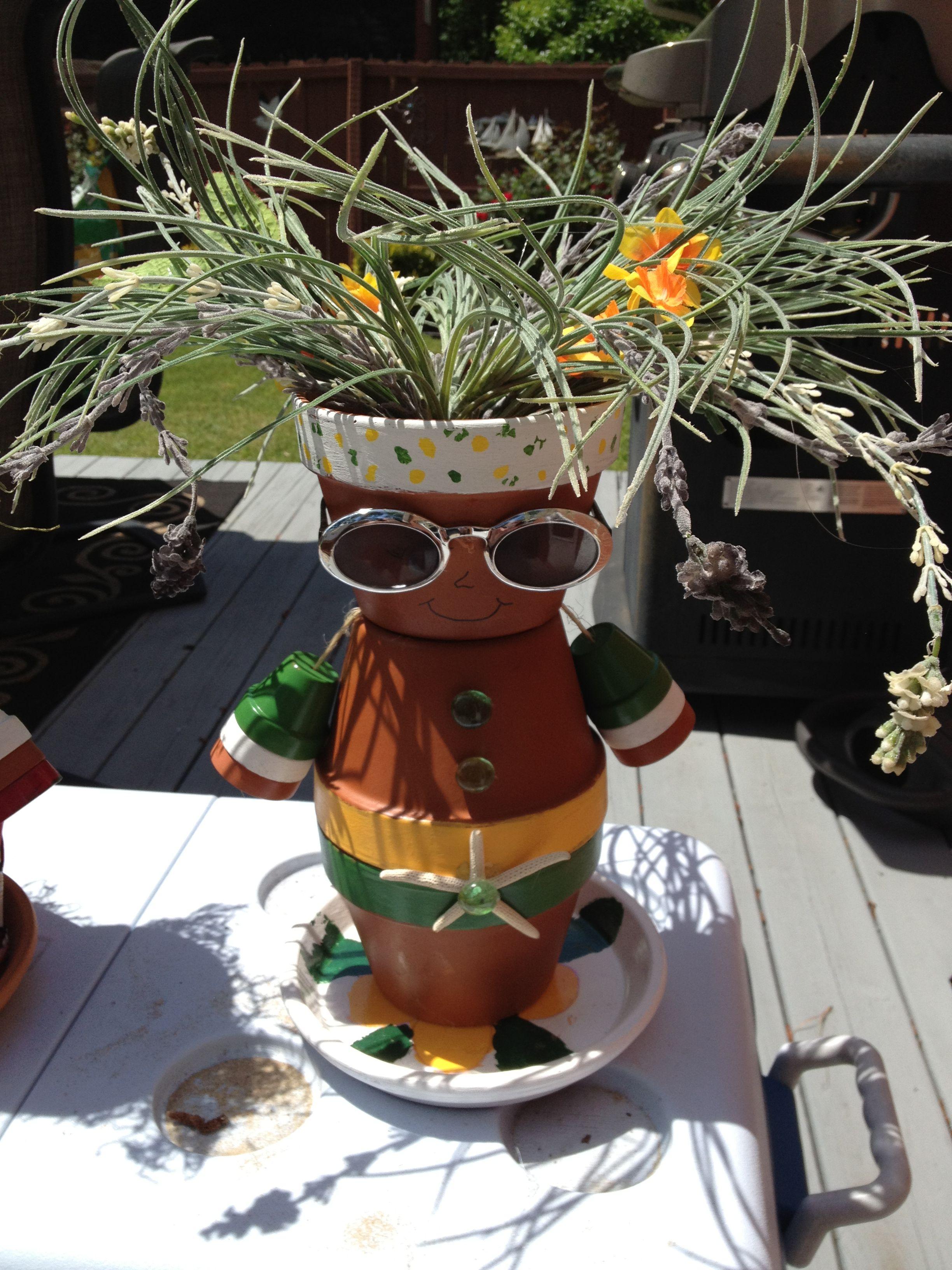 Charmant Wir Haben Hier Für Sie Eine Sammlung Schöner Ideen Für Gartendeko Aus  Tontöpfen Zusammengestellt, Damit Sie Sich Für Dieses Interessante  Bastelprojekt