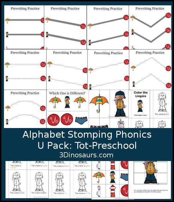 Alfabeto libre de pisar fuerte Fonética T-Tot Preschool Pack - 20 ...