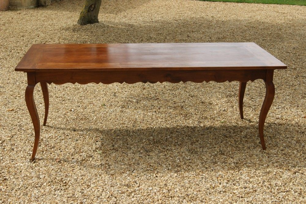LOVELY FRENCH FARMHOUSE TABLE IN CHERRY WOOD CIRCA 1920
