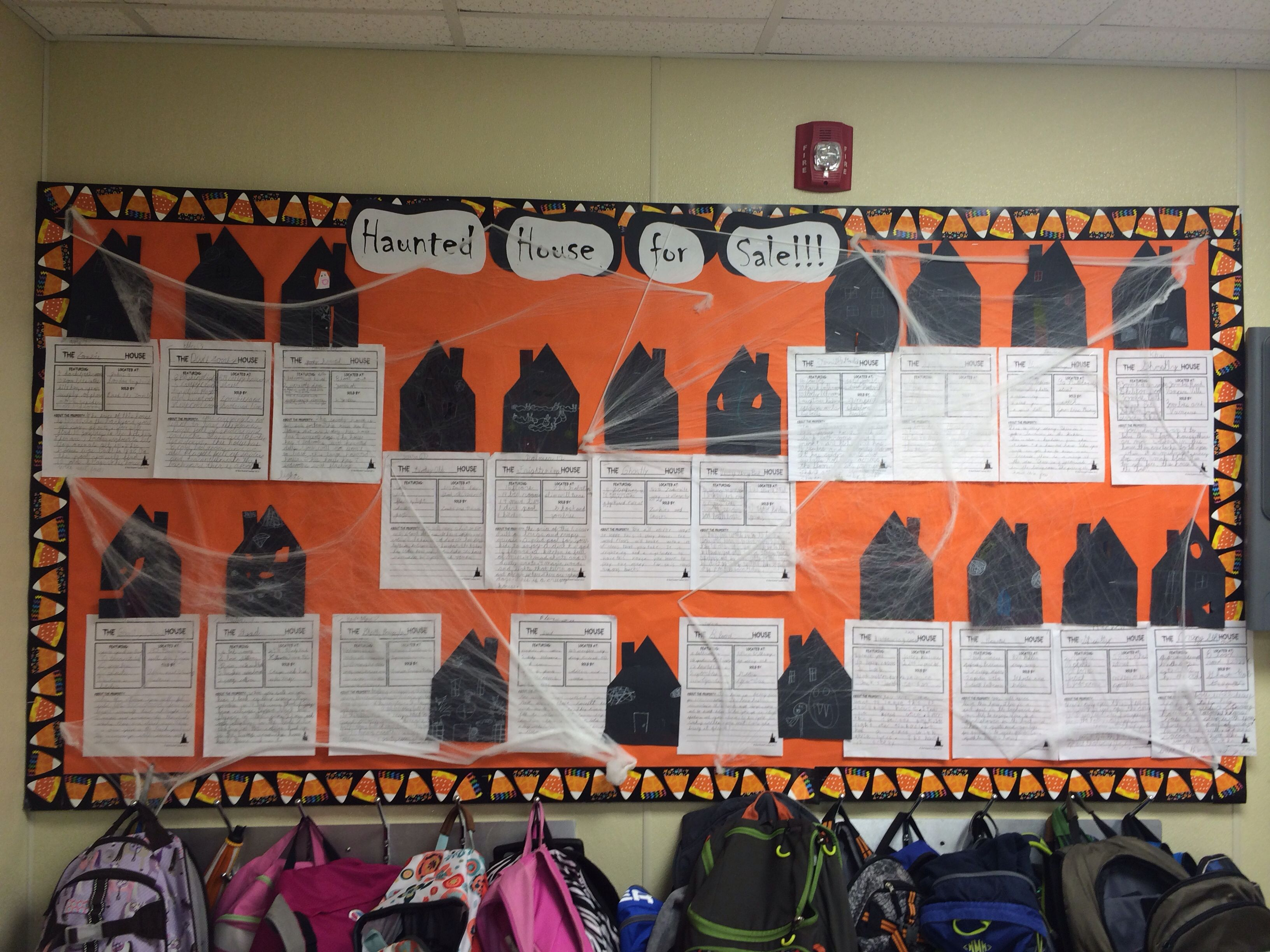 Haunted Houses For Sale Writing Activity