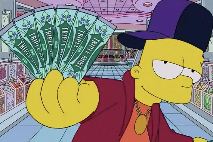 The Simpsons Spoof Drake S Started From The Bottom The Simpsons Simpson Art Friend