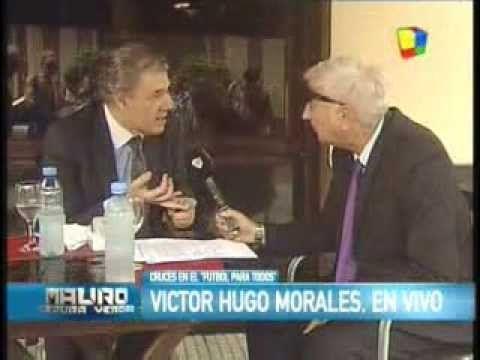 Victor Hugo Morales mano a mano con Mauro Viale (America TV)