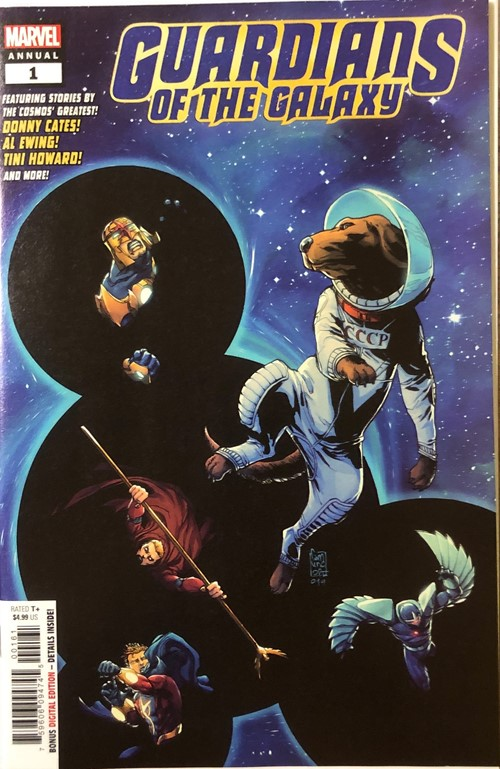 Guardians Of The Galaxy Annual 1 Guardians Of The Galaxy Comics Marvel