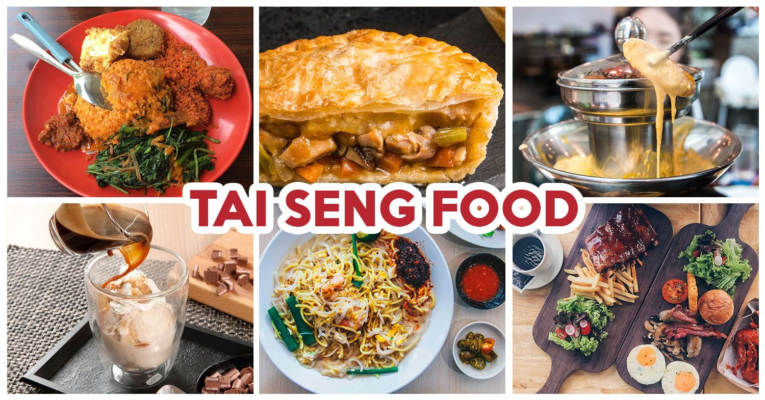 10 Tai Seng Food Places Including Acai Bowl Halal Seafood Bucket And Chicken Pie Shops Chicken Pie Shop Food Food Places