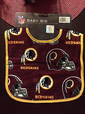NFL Washington Redskins Fan Baby Bib  89d939d36