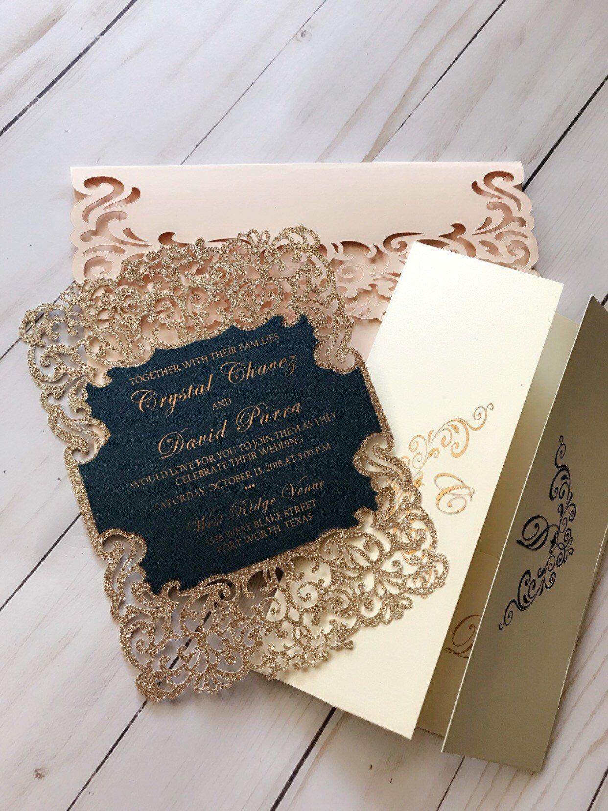 Elegant Wedding Invitation In 2019