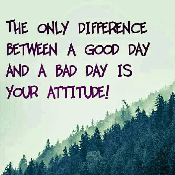Good Day Positive Attitude Quotes Inspirational