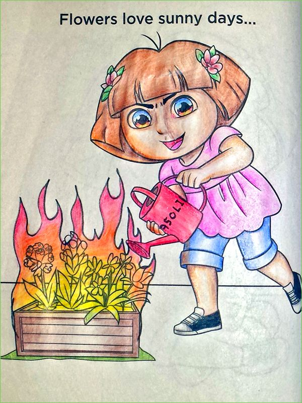 Guest Post Gardening She Spent All Summer Growing Them For This Another Corruption Coloring Book