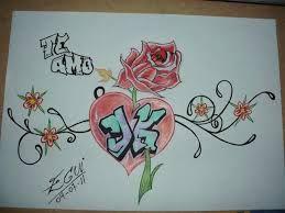 Graffitis De Amor Buscar Con Google Graffitis De Amor Alfabeto De Grafiti Dibujos