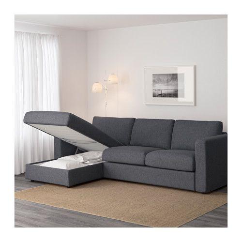 VIMLE Sofa   With Chaise/Gunnared Medium Gray   IKEA