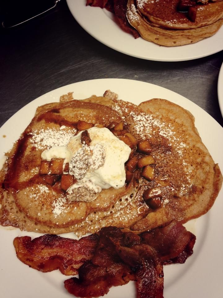 Join The Tavern in Old Salem for Easter breakfast after the Easter Sunrise Service of the Moravian Church! They'll be open 7am - 10 am for Easter breakfast and 11am-3pm for Easter Brunch.    Maybe you'll get to try their apple ginger pancakes! The menu changes every Sunday, so make sure to visit http://thetaverninoldsalem.ws/ to view their current menu and sign up for their emails!