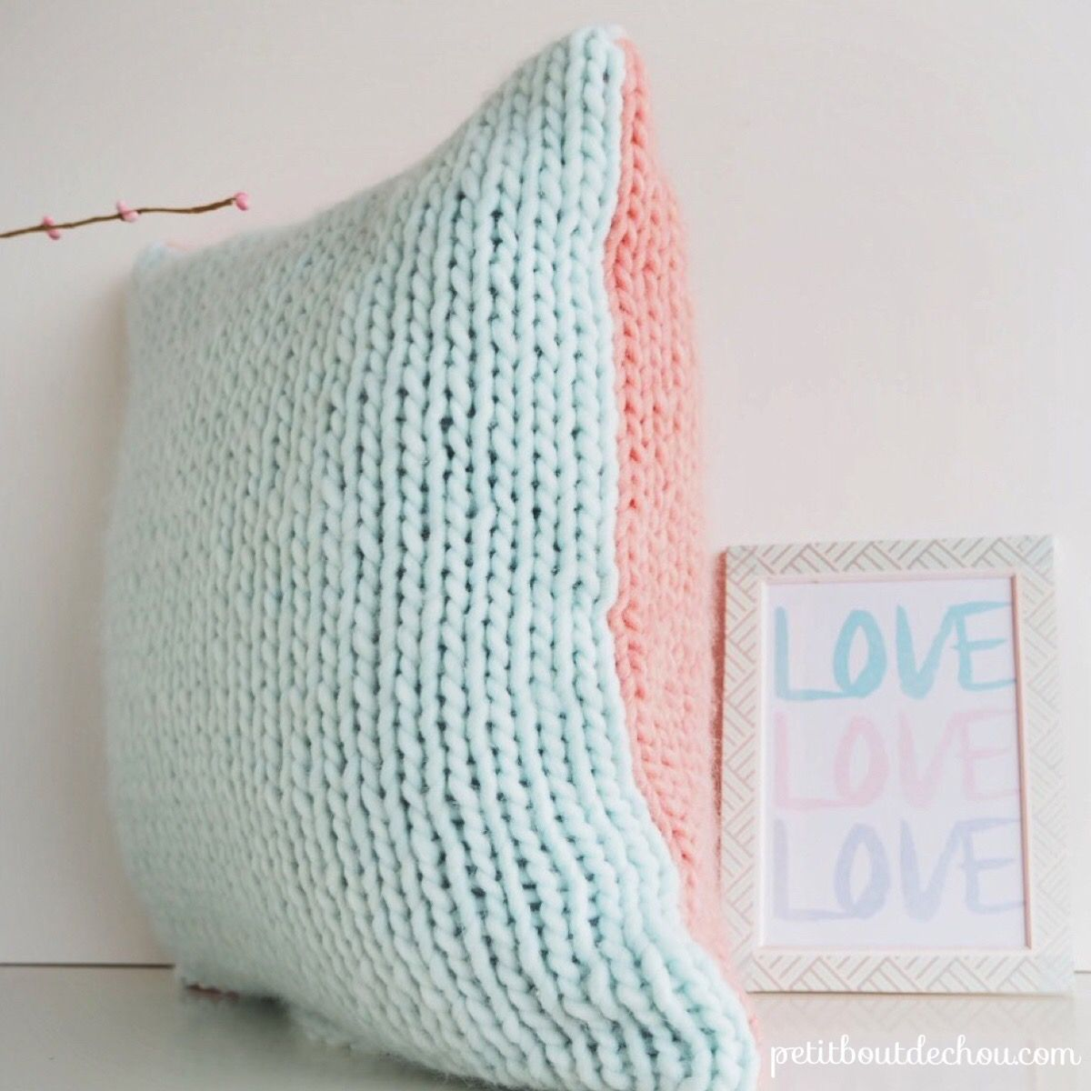 Diy knitted cushion cover diy home u other pinterest sewing
