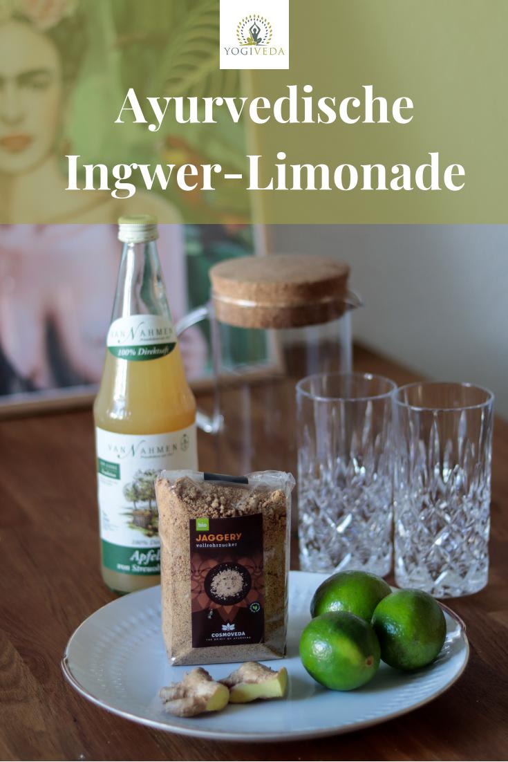 Ayurvedische Limonade - eine Erfrischung im Sommer - Yogiveda #healthystarbucksdrinks